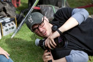 Chronicle: il regista del film Josh Trank sul set