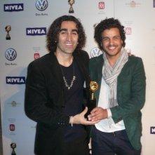 Fariborz Kamkari e Mohamed Zouaoui ai globi d'oro 2011