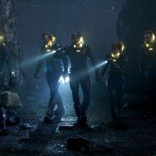 Prometheus: la squadra di avventori fa un giro di ricognizione