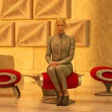 Prometheus: una scintillante Charlize Theron in una scena del film di Ridley Scott