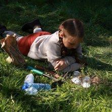 La piccola Wynona Ringer in una sequenza di A Pas de Loup