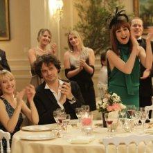 Plan de Table: Elsa Zylberstein in una scena con Audrey Lamy e Elsa Zylberstein, Audrey Lamy, Mathias Mlekuz