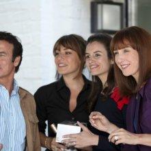 Plan de Table: Franck Dubosc, Elsa Zylberstein, Shirley Bousquet, Louise Monot