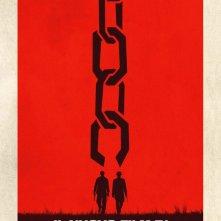 Django Unchained: il teaser poster italiano del film