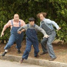 I tre marmittoni in azione: Sean Hayes, Will Sasso e Chris Diamantopoulos