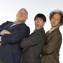 I tre marmittoni in una foto promozionale: Sean Hayes, Will Sasso e Chris Diamantopoulos