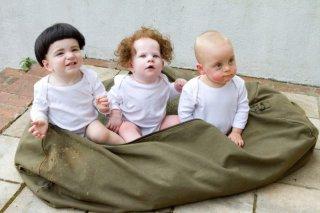 I tre piccoli marmittoni in una scena del film dei fratelli Farrelly