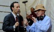 Woody Allen è arrivato a Roma con amore