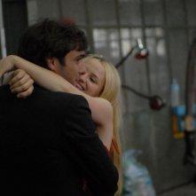 Sandrine nella pioggia: Sara Forestier con Adriano Giannini in una scena del film
