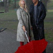 Sandrine nella pioggia: Sara Forestier sotto la pioggia insieme ad Adriano Giannini