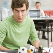 Workers - Pronti a tutto: Alessandro Tiberi in una scena del film