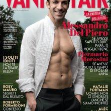 Alessandro Del Piero sulla cover di Vanity Fair (aprile 2012)