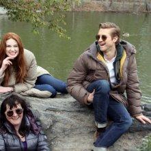 Doctor Who: Karen Gillan, Arthur Darvill e Caroline Skinner sul set newyorkese della stagione 7