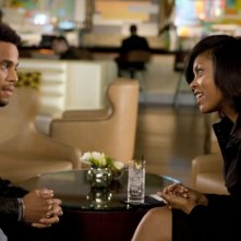 Michael Ealy con Taraji P. Henson nella commedia Think Like a Man (2012).