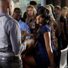 Think Like a Man (2012): Kelly Rowland (al centro) interpreta Brenda