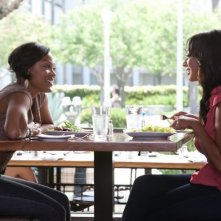 Think Like a Man (2012): Meagan Good con LaLa Vazquez
