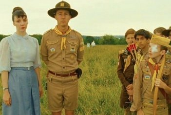 Edward Norton in una scena di Moonrise Kingdom
