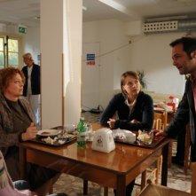 Maternity Blues: il regista Fabrizio Cattani sul set con Monica Birladeanu, Chiara Martegiani e Marina Pennafina