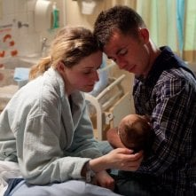 Paul Brannigan, Siobhan Reilly e il loro nuovo nato in un momento intimo di