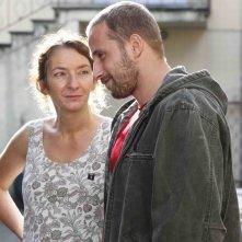 Rust and Bone: Matthias Schoenaerts e Corinne Masiero in una scena