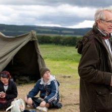 The Angels' Share: il regista Ken Loach sul set del film