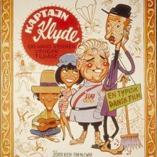 The Return of Captain Klyde & his Friend: la locandina del film