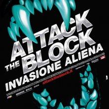 Attack the Block - Invasione aliena: la locandina italiana del film