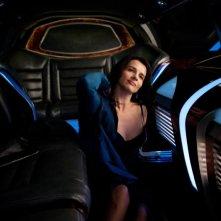 Juliette Binoche nei panni di Didi Fancher in una scena di Cosmopolis