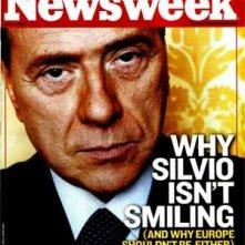 Silvio Berlusconi in copertina su Newsweek