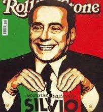 Silvio Berlusconi in copertina su Rolling Stone