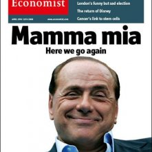 Silvio Berlusconi in copertina su The Economist