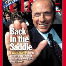 Silvio Berlusconi in copertina su Time, nel 2001