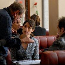 Tutti i nostri desideri: il regista Philippe Lioret sul set insieme a Vincent Lindon e Marie Gillain