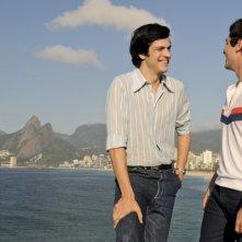 A novela das 8: Mateus Solano e Paulo Lontra in una scena