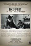 Hopper: In His Own Words, la locandina del biopic su Dennis Hopper diretto da Cass Warner