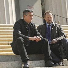 Person of Interest: James Caviezel e David Costabile in una scena dell'episodio Judgement