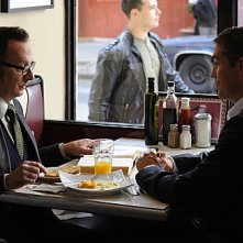 Person of Interest: James Caviezel e Michael Emerson in una scena dell'episodio Judgement