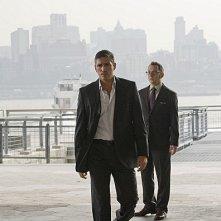 Person of Interest: James Caviezel e Michael Emerson  in una scena dell'episodio Witness