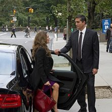 Person of Interest: James Caviezel e Paige Turco in una scena dell'episodio The Fix