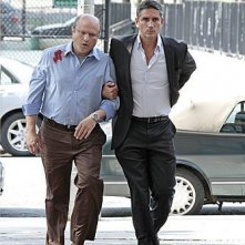 Person of Interest: James Caviezel ed Enrico Colantoni nell'episodio Witness