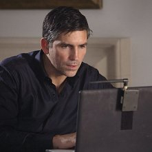 Person of Interest: James Caviezel in una scena dell'episodio Super