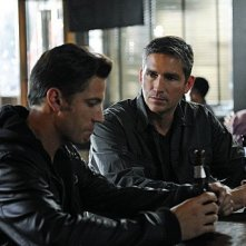 Person of Interest: Jim Caviezel e James Carpinello nell'episodio Mission Creep