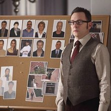 Person of Interest: Michael Emerson in una scena dell'episodio Super