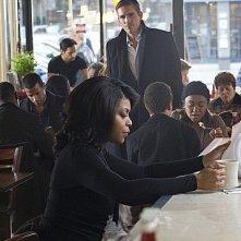 Person of Interest: Taraji P. Henson e James Caviezel in una scena dell'episodio Legacy