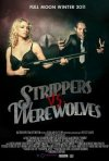 Strippers vs Werewolves: la locandina del film