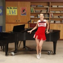 Glee: Heather Morris nell'episodio Dance with Somebody