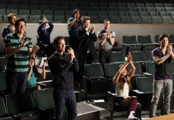 Glee: una scena dell'episodio Addio, Whitney