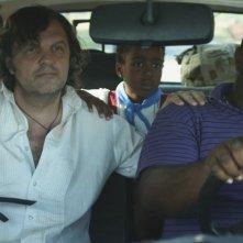 7 giorni all'Havana: Alexander Abreu insieme a Emir Kusturica in una scena dell'episodio Jam Session (giorno 2) di Pablo Trapero