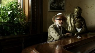 7 giorni all'Havana: Elia Suleiman in una scena dell'episodio Diary of a beginner (giorno 4) da lui diretto