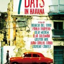 7 giorni all'Havana: la locandina ufficiale internazionale del film